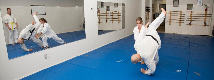 learn aikido in klamath falls